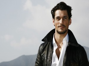 El guapo modelo David Gandy