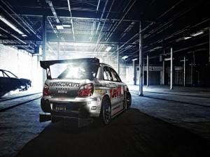 Un Subaru de competición