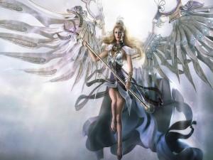 La reina de los ángeles