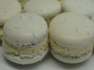 Macarons con crema de limón