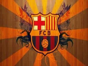 El escudo del Fútbol Club Barcelona