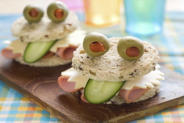 Unos divertidos sándwiches