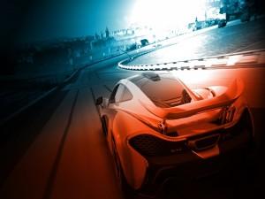 McLaren en un circuito (Forza Motorsport 5)