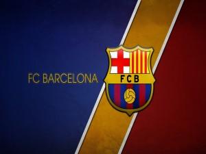 Los colores y el escudo del Fútbol Club Barcelona
