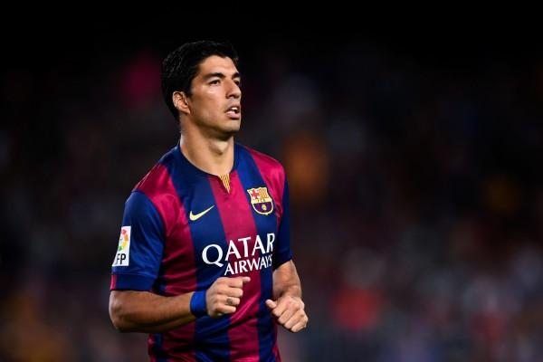 Luis Suárez con la camiseta del Barcelona