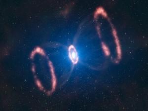 Postal: Una supernova
