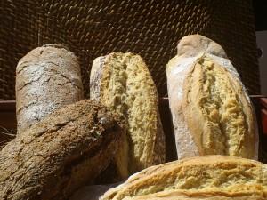 Barras de pan artesanas
