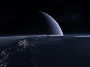 Superficie de un planeta