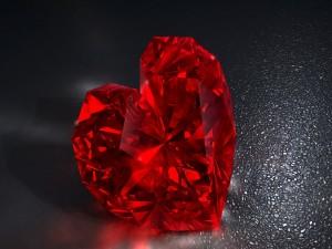 Corazón de diamante