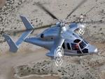 Un Eurocopter X3 en el aire