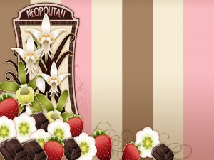 Fresas, chocolate y flores