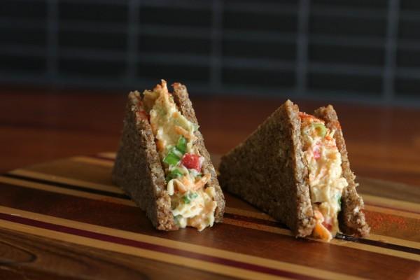 Sándwich de ensaladilla