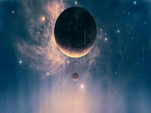 Tres planetas cercanos