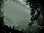 Imagen abstracta en tonos oscuros