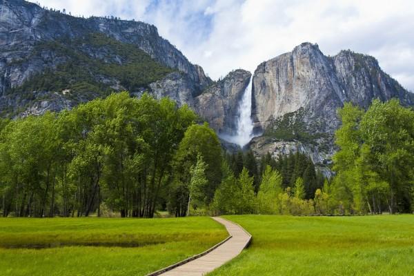 Las cascadas de Yosemite