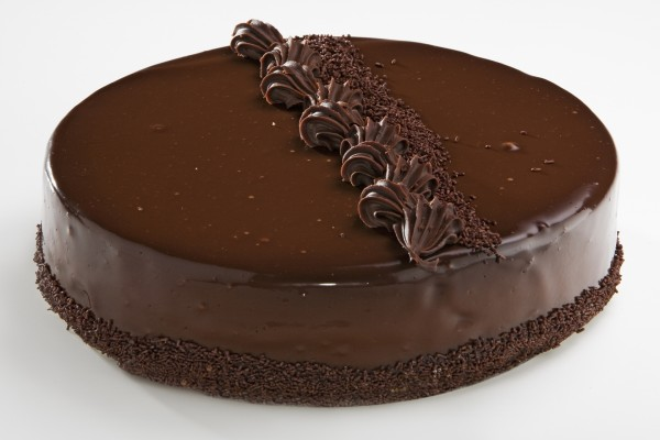 Una rica tarta de chocolate