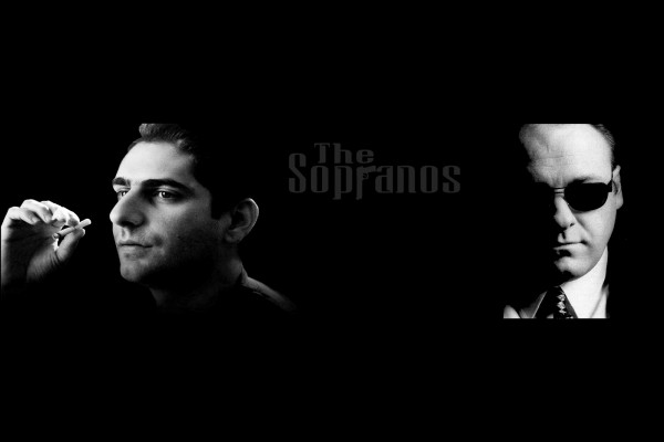 Tony Soprano y Christopher Moltisanti