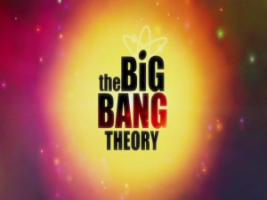 "Logo de la serie ""The Big Bang Theory"""