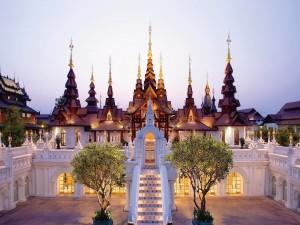 Luces en Chiang Mai (Tailandia)