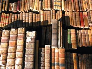 Libros antiguos iluminados