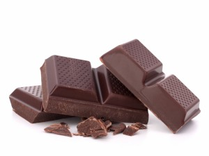Unas onzas de chocolate