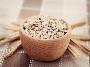 Cereales en un cuenco