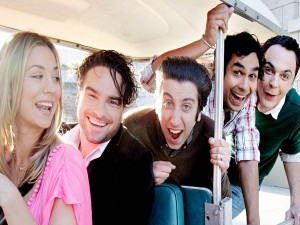 "Los sonrientes chicos de ""The Big Bang Theory"""