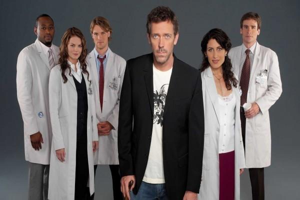 El Dr. Gregory House y su equipo medico (House M.D.)