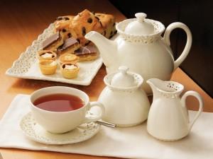 Té y pasteles