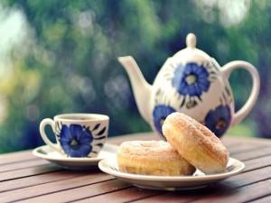 Donuts y té