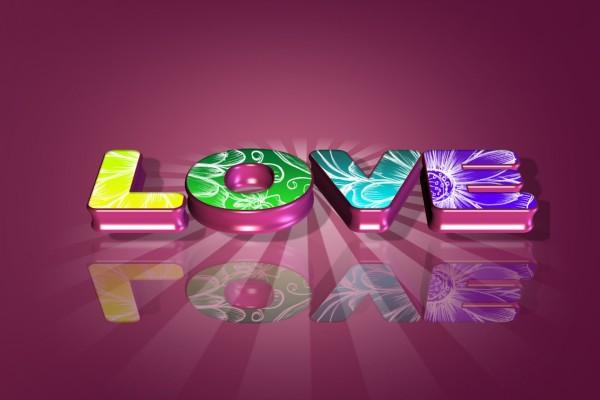 Love (amor) en colores