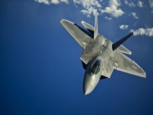 F-22 Raptor en vuelo