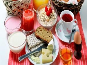Desayuno sano y variado