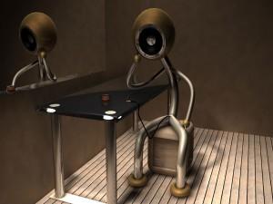 Robot aburrido