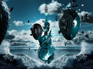 El océano y la música