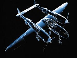 Aeroplano bimotor