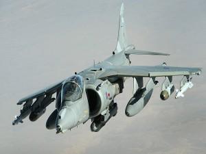 Un Harrier Jump Jet