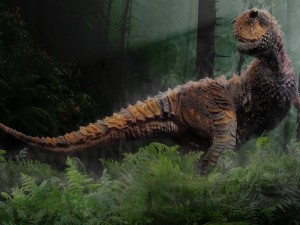 Tiranosaurio Rex que vivió a finales del período Cretácico