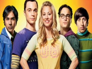"Los cinco protagonistas de ""The Big Bang Theory"""