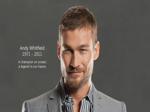 El actor Andy Whitfield