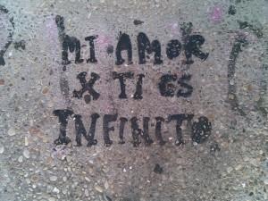 Mi amor por ti es infinito