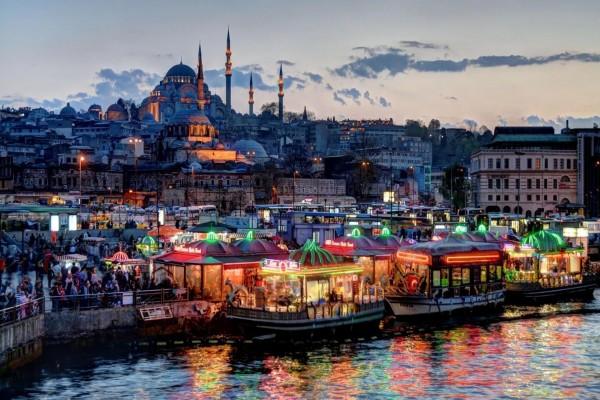 Anochecer en Estambul