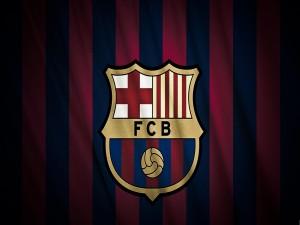 El escudo y los colores del Fútbol Club Barcelona