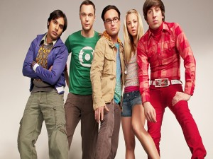 "Los protagonistas de ""The Big Bang Theory"""