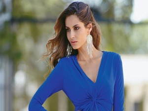 La modelo española Ariadne Artiles Cardeñosa