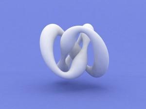 Figura con forma de nudo