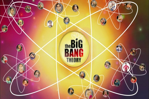 "Los personajes de ""The Big Bang Theory"""