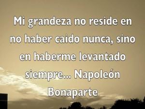 Frase de Napoleón Bonaparte