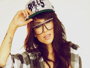 La modelo y DJ Alie Layus