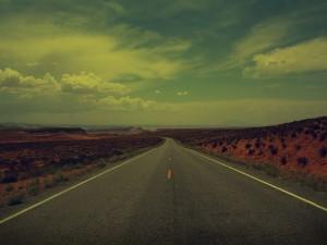 Carretera desierta